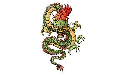 Chinese Fortune Dragon