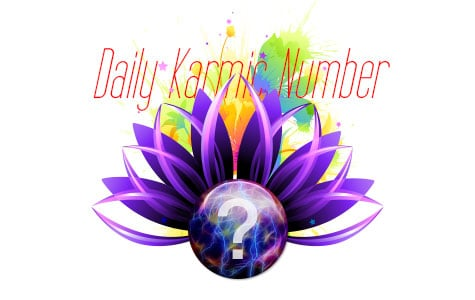 Daily Karmic Number