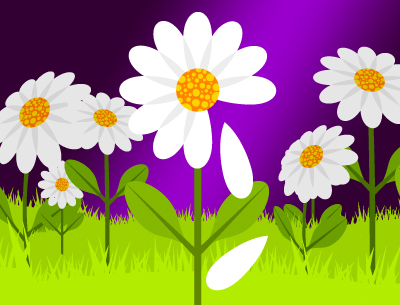 daisy love oracle by horoscope  get free divination games, Natural flower