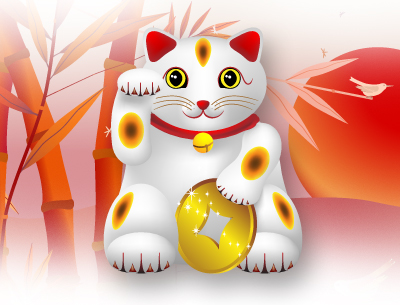 Lucky Cat by Horoscope com | Get Free Divination Games just