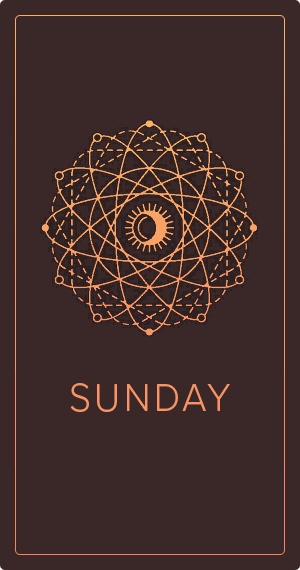 tarot card for sunday
