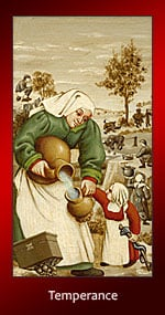 Your Daily Erotic Tarot Card for January 14 is Temperance