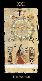 Your Egyptian Love Tarot Card for Sept  19th is The World – Witches