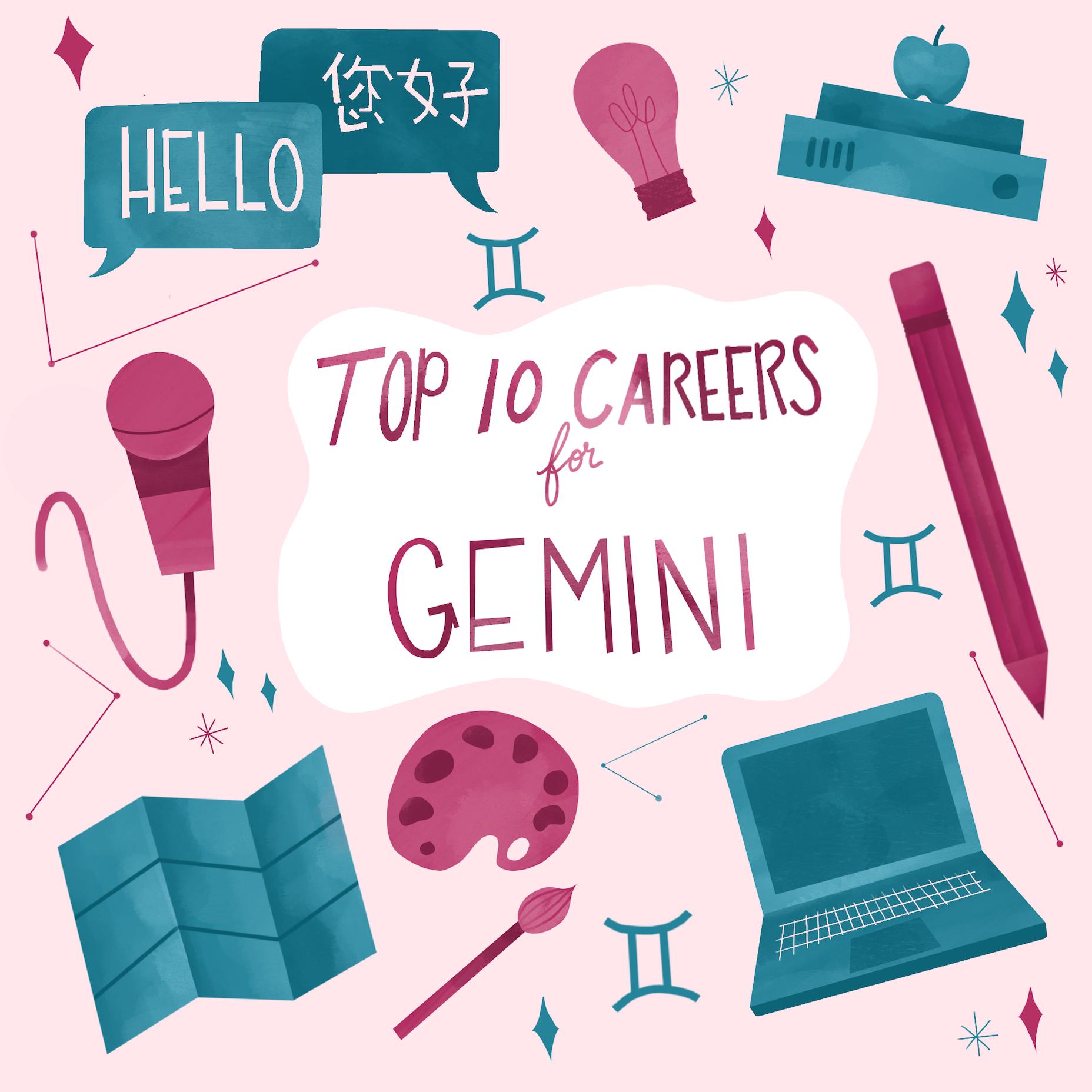 Top 10 Careers For Gemini