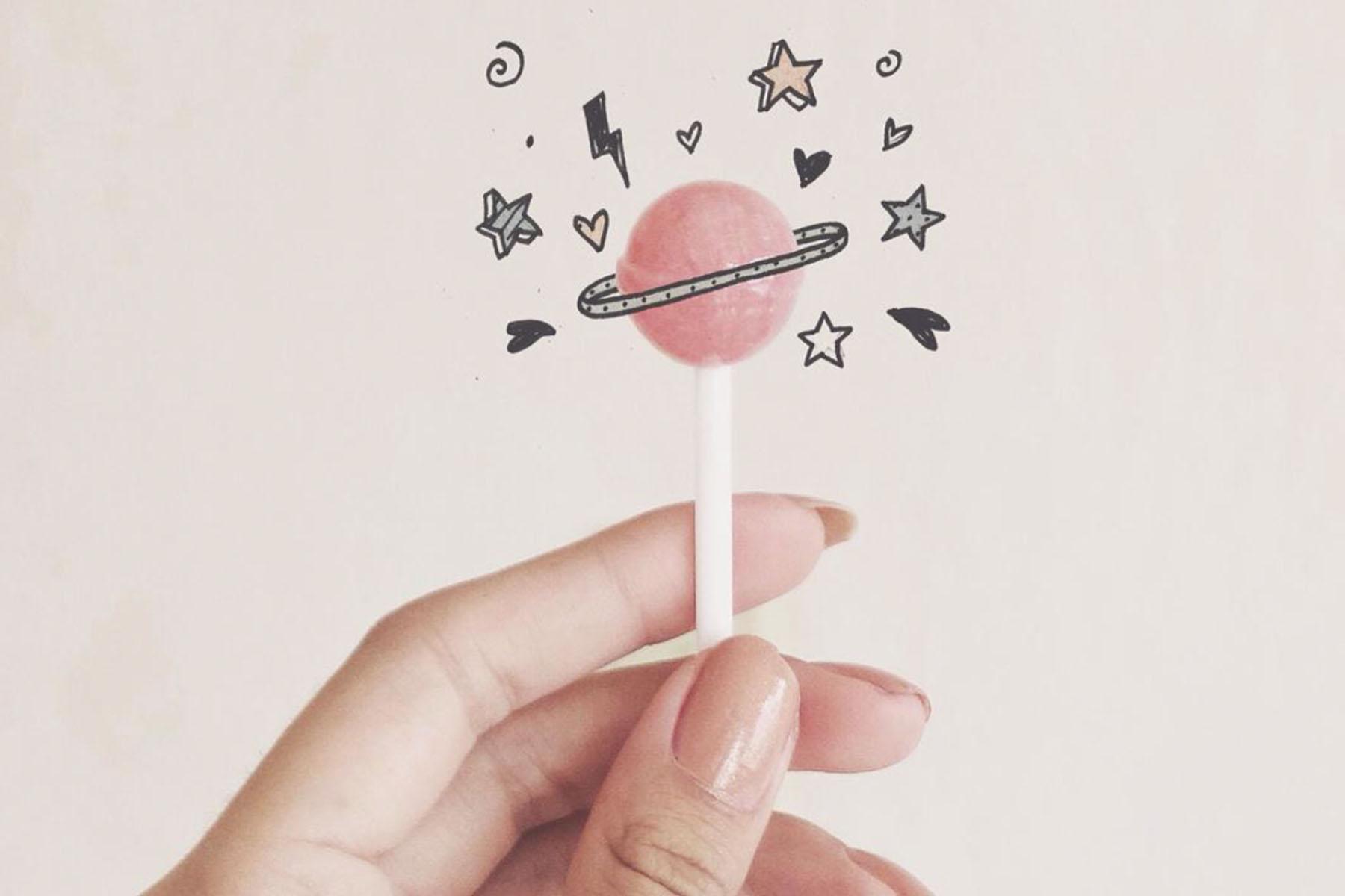 saturn lollipop