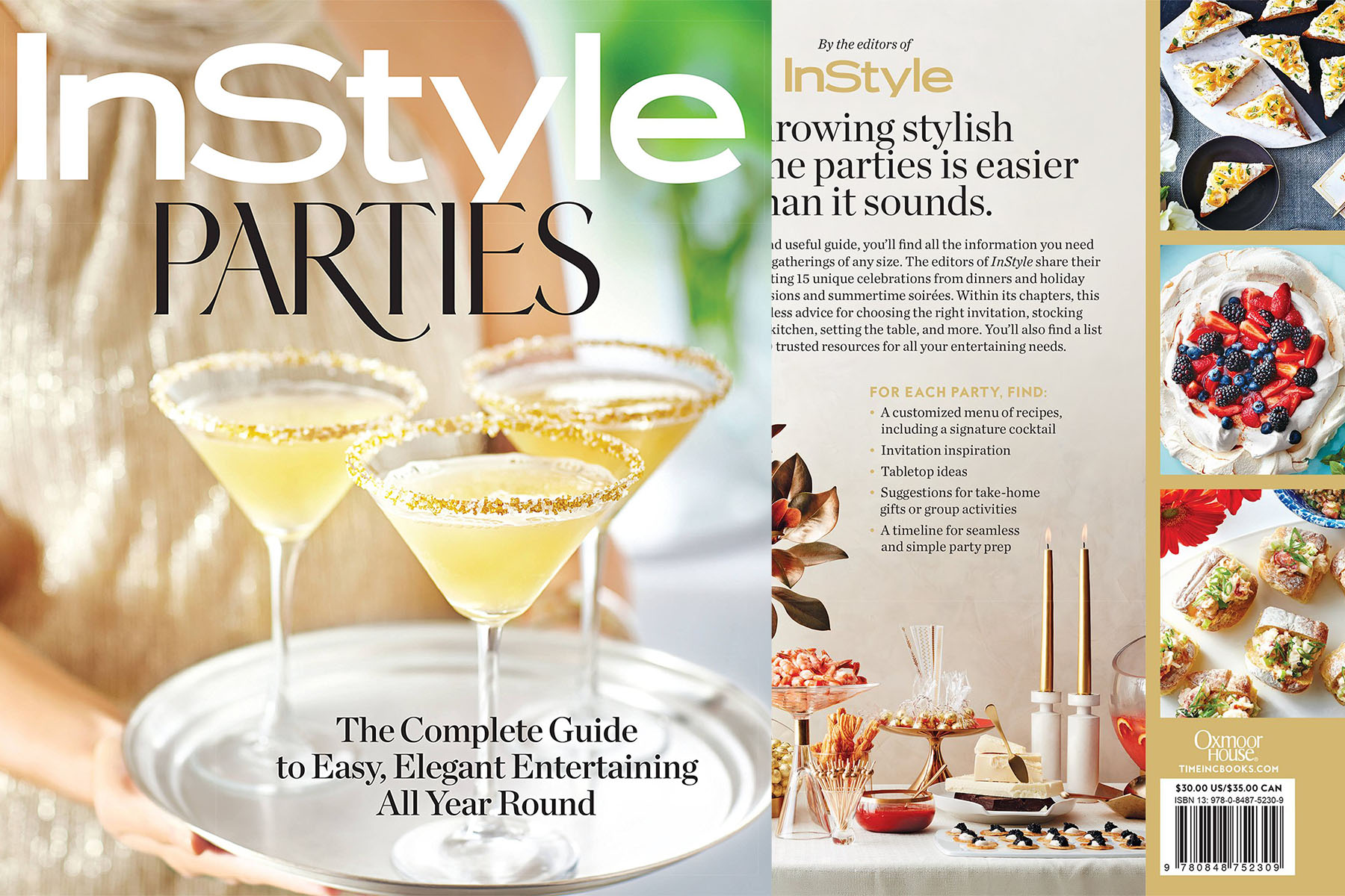 instyle party book