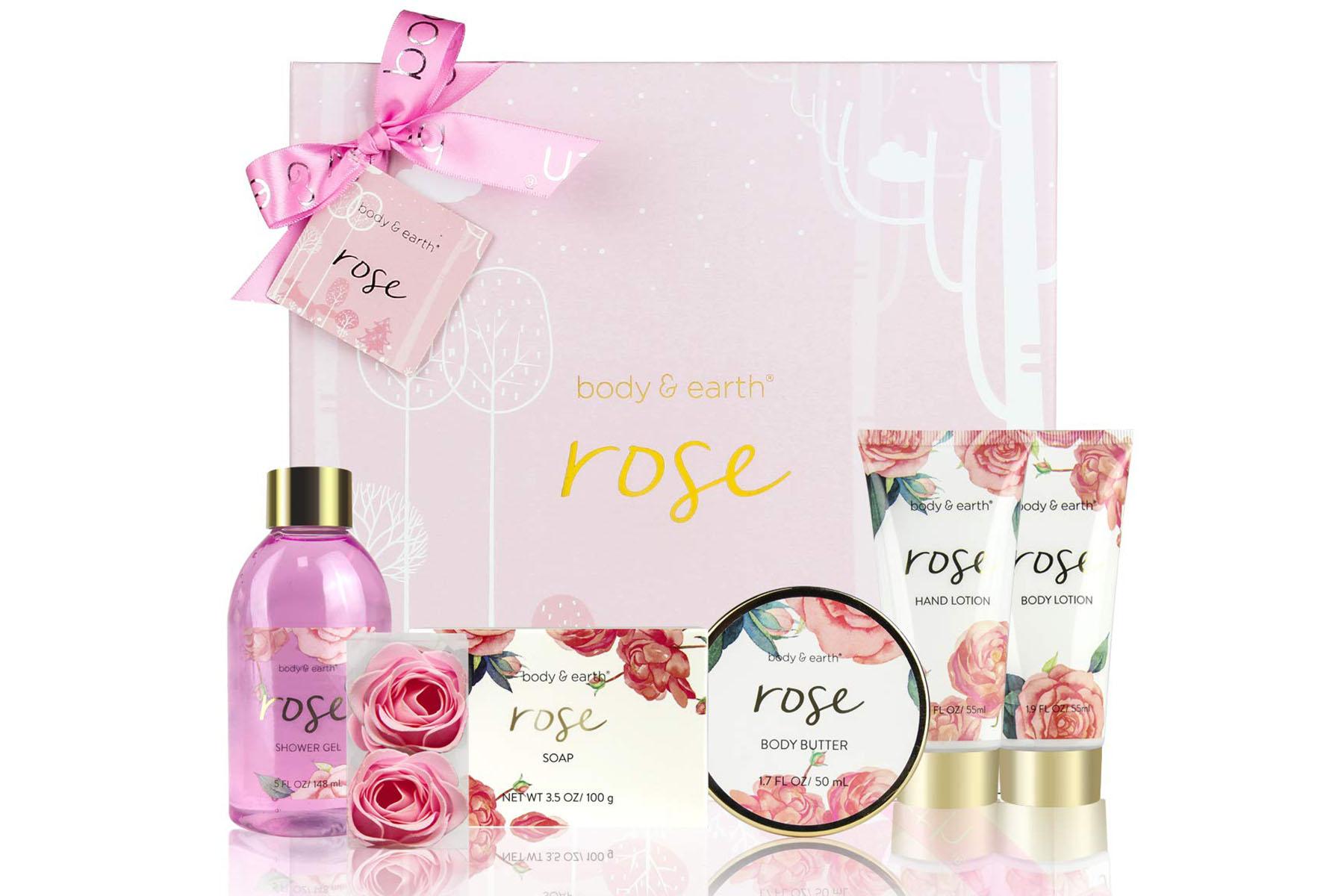 rose spa kit