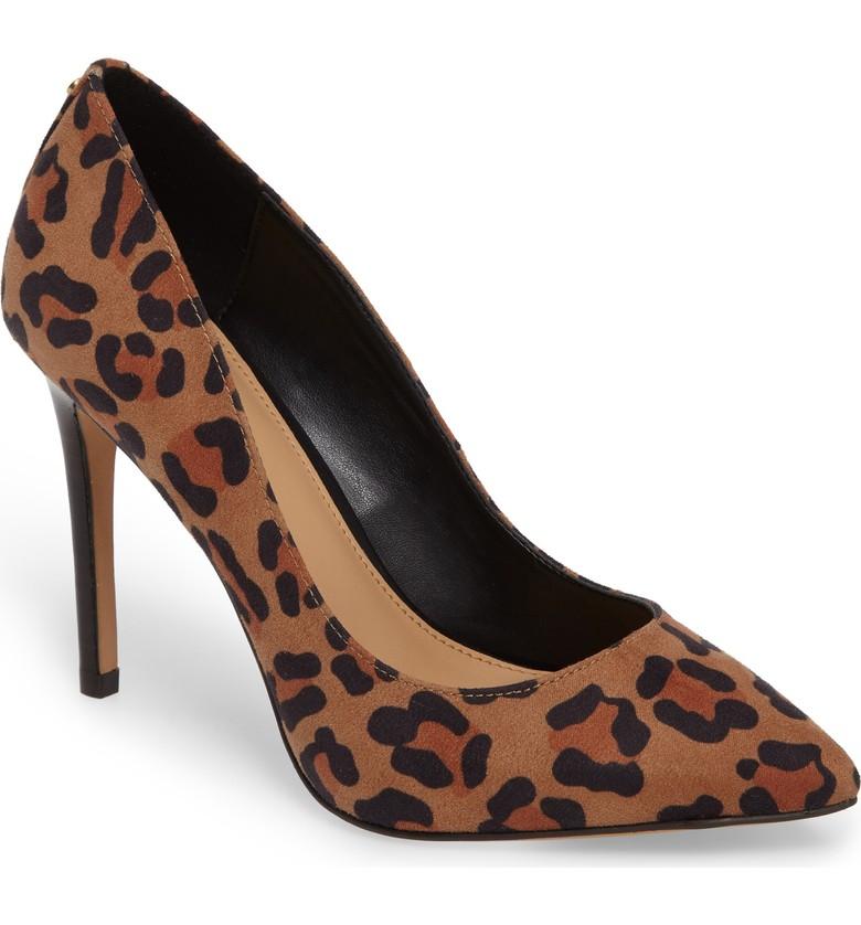 leopard print heel sign