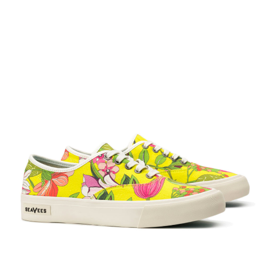 floral sneaker trina turk laces shoes