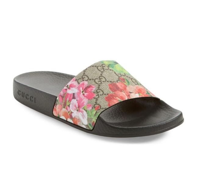 gucci flower slide summer sandal luxury