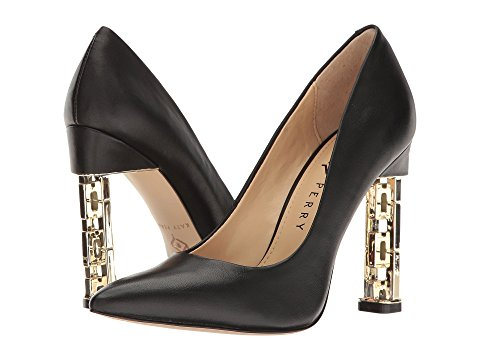 heels black with gold