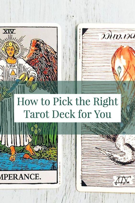 picking a deck