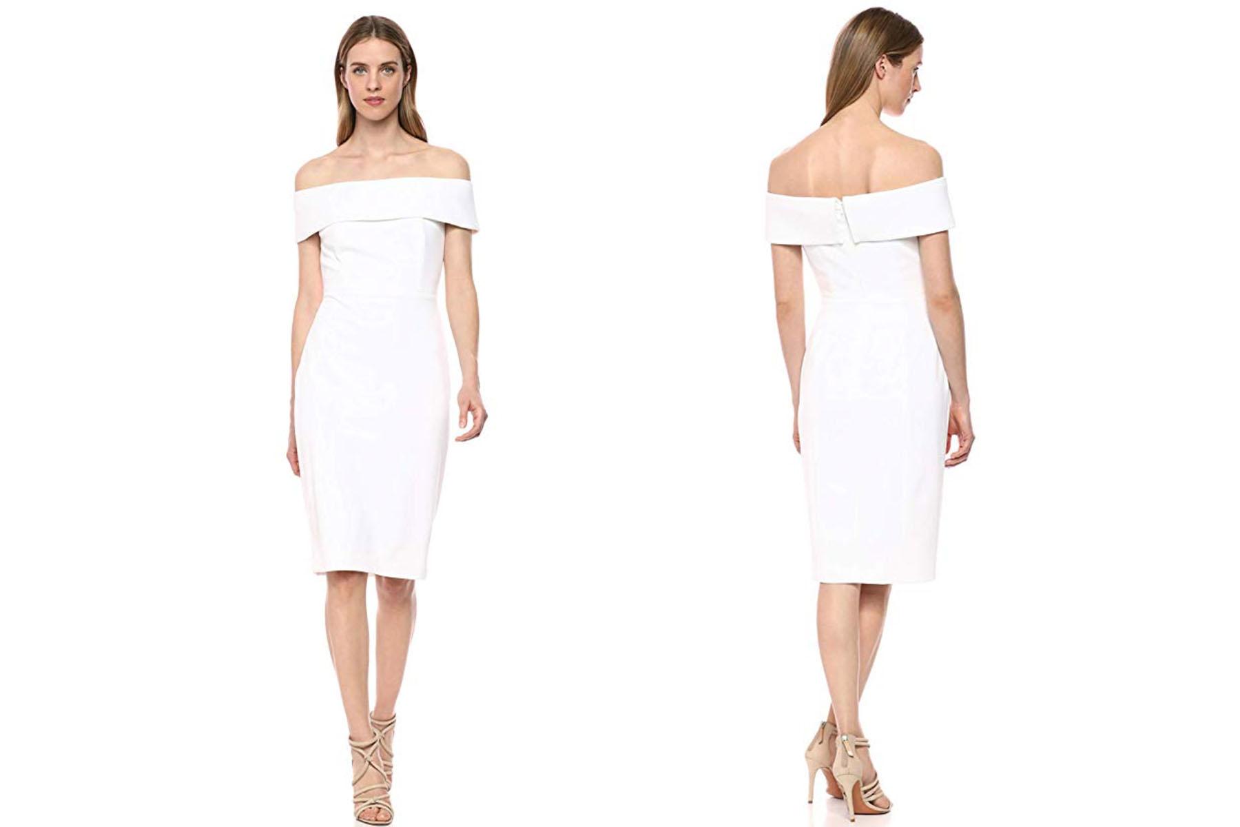 Calvin Klein shoulder dress