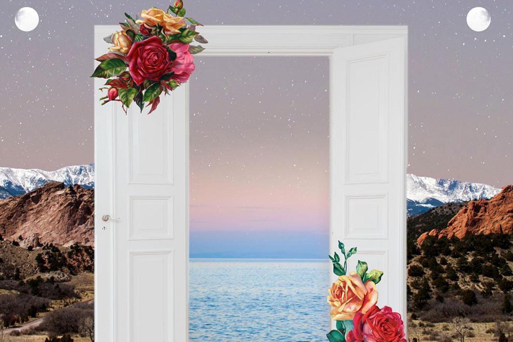 door open art