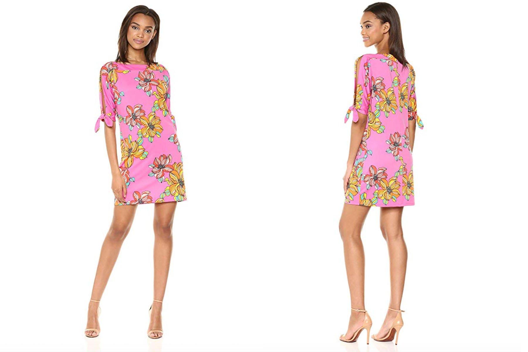 trina Trina Turk vinet split dress