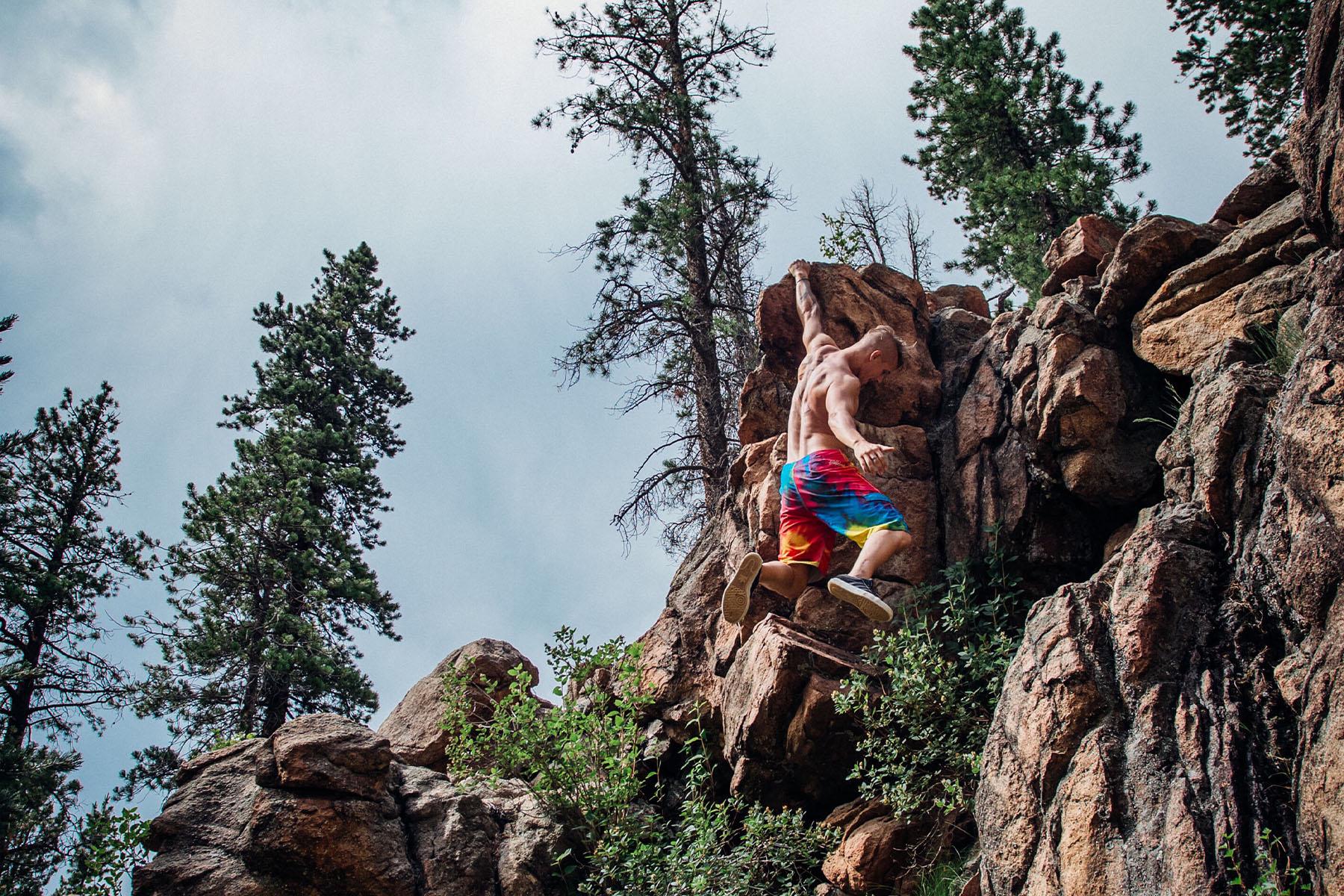 rock climbing rockies