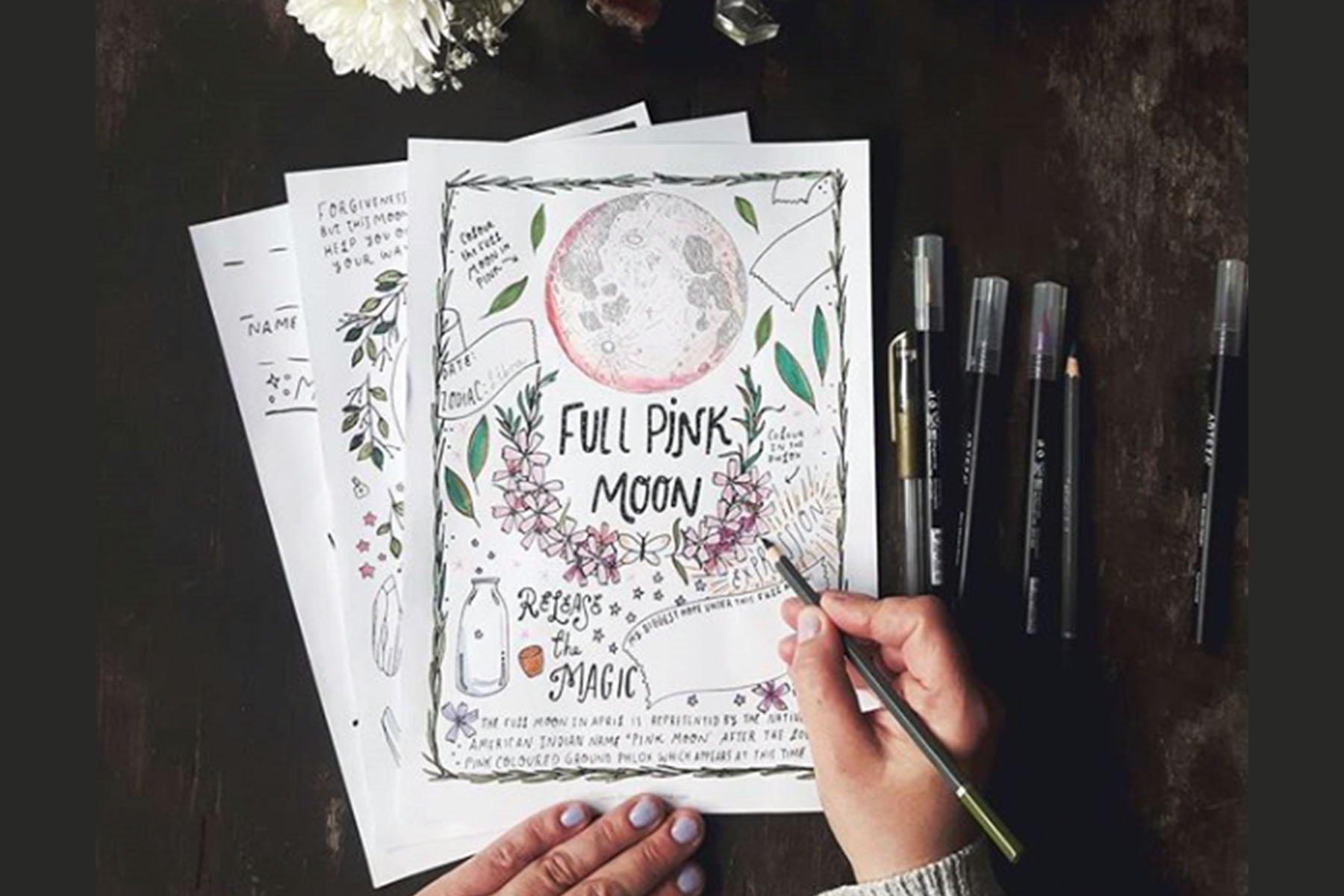 journal full moon