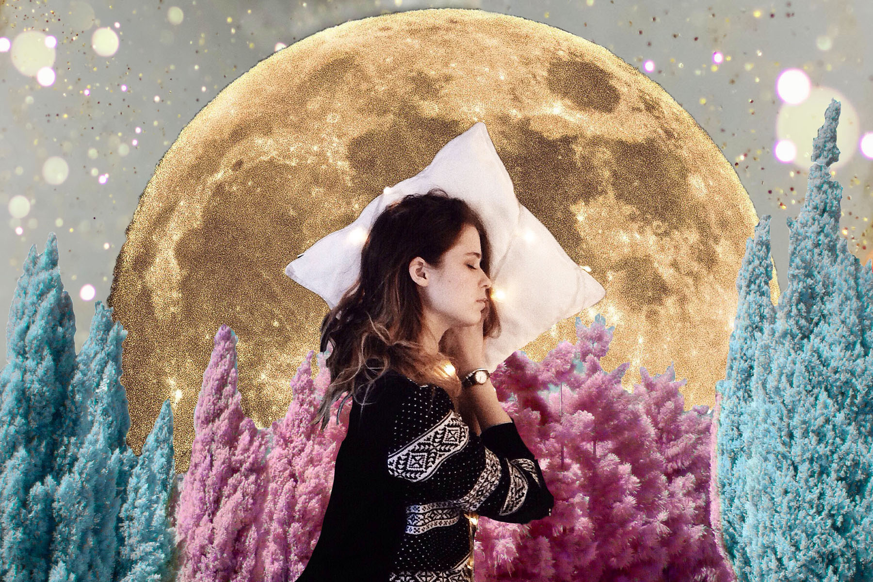 Your Dreams During the Pisces Full Moon Are Super Important—Here's How to Remember Them