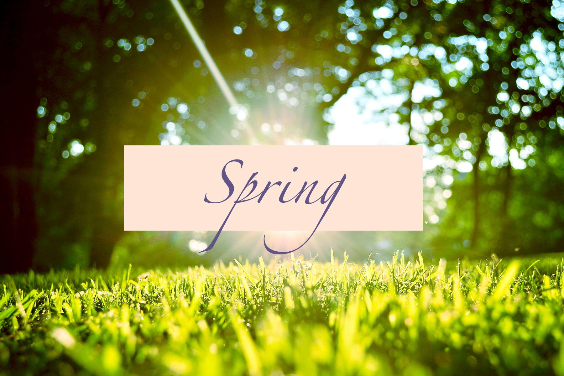 spring dates