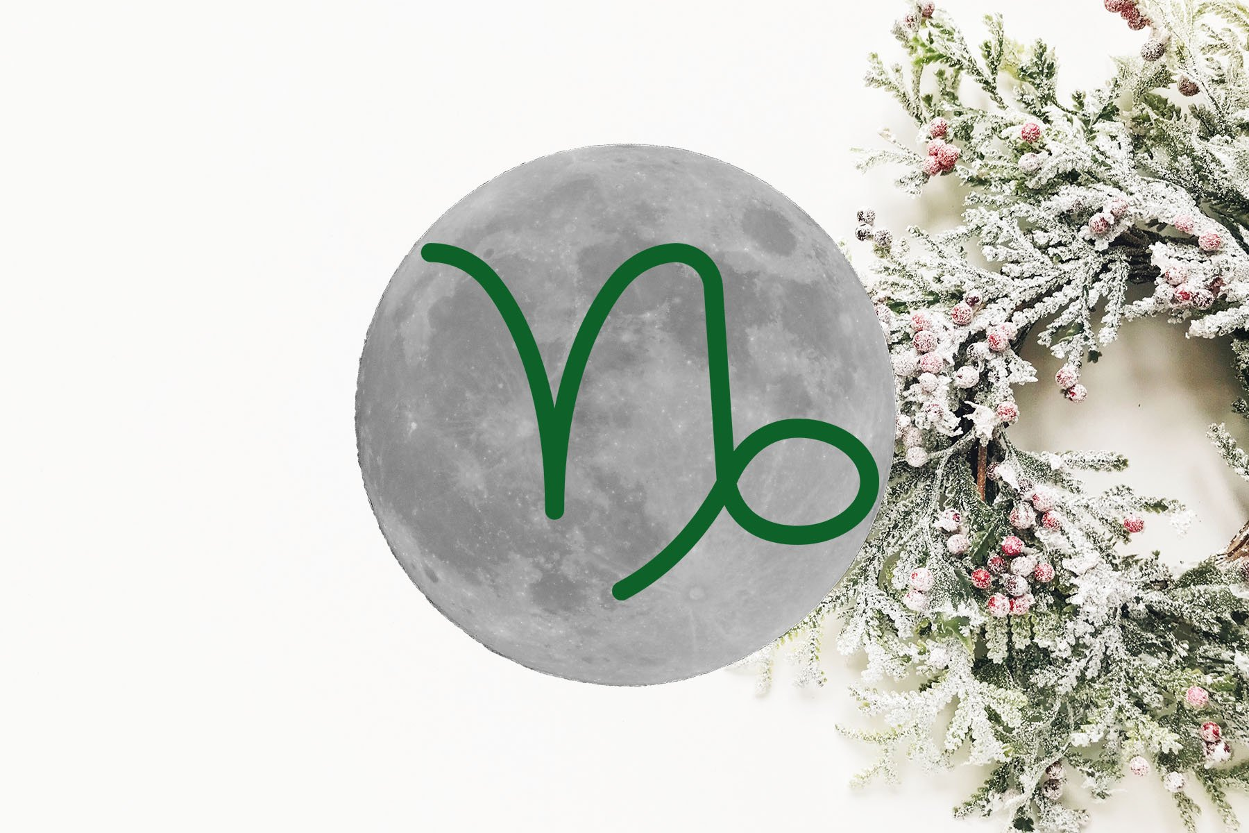 New Moon and Solar Eclipse in Capricorn: a Christmas Miracle