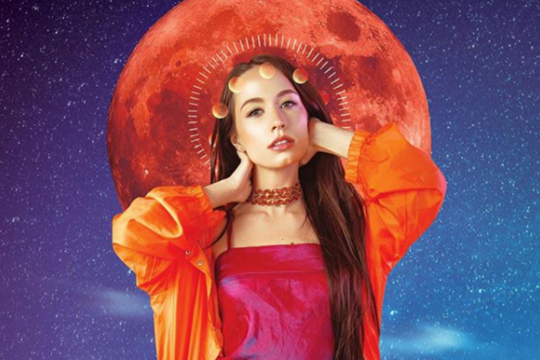 woman moon