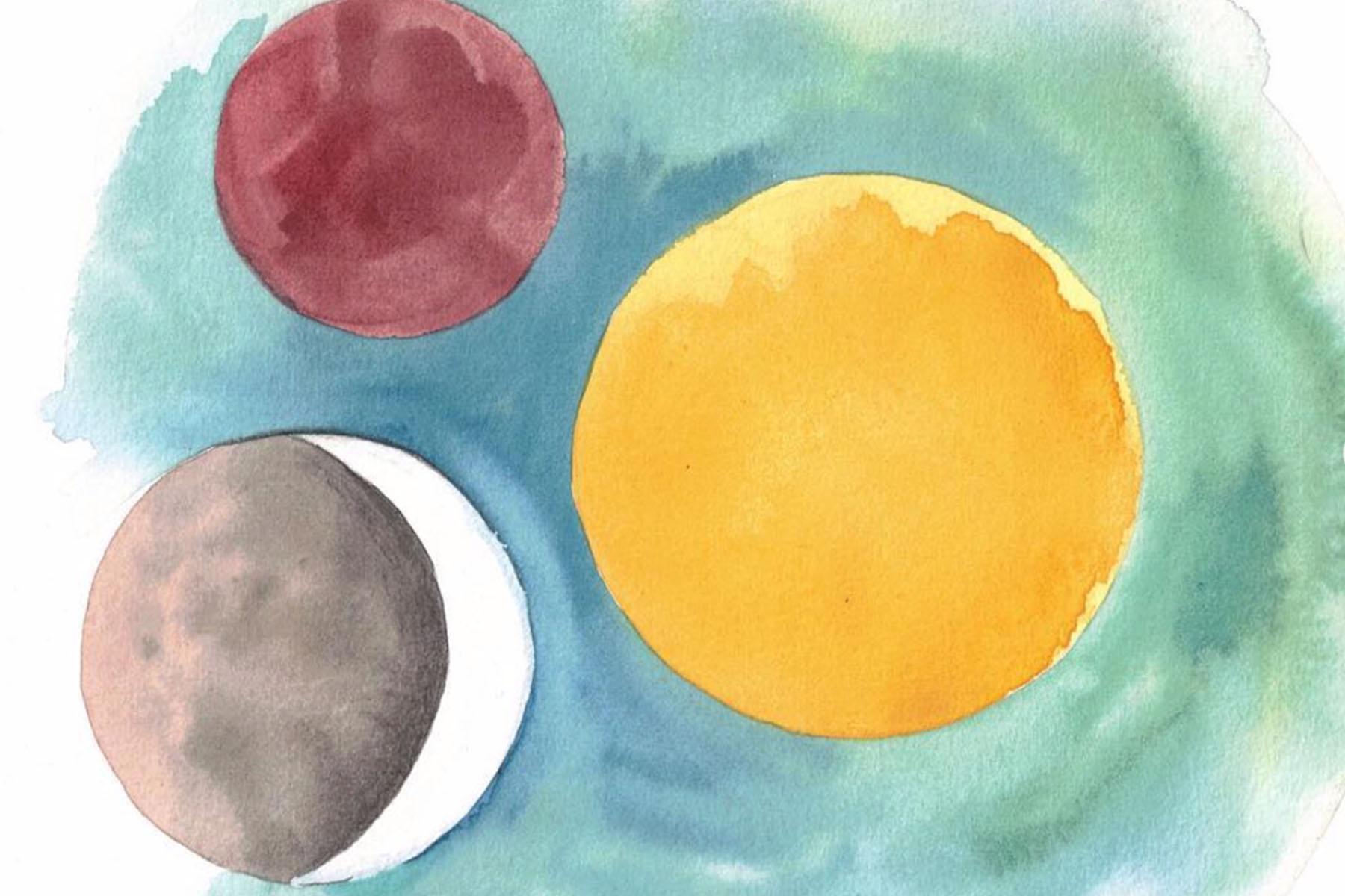 sun moon lunar eclipse